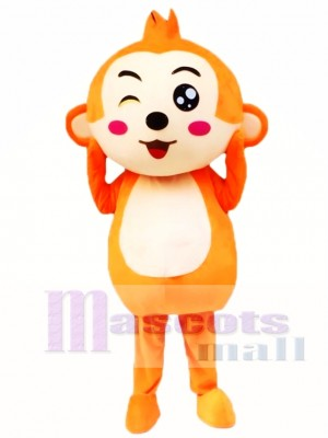 Cartoon Monkey Mascot Costume