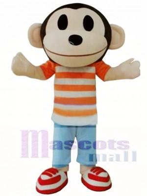 Monkey Adult Animal Cartoon Character Mascot Costume