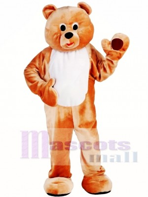 Mens Honey Bear Mascot Costume
