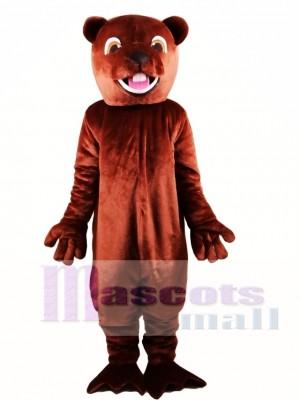 Barney Beaver Mascot Costume