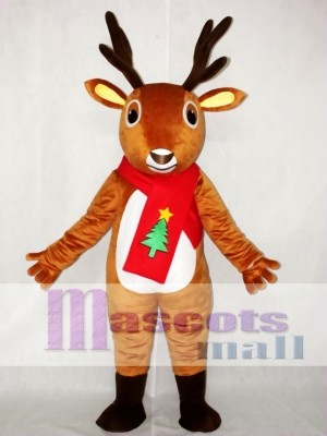 Adult Animal Costume Deer Mascot Costume