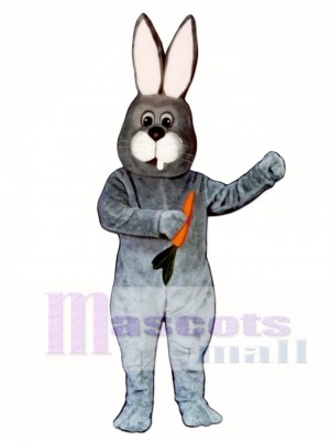 Toothless Rabbit Easter Bunny Mascot Costume