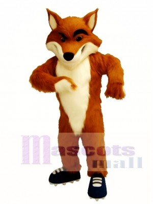 Fox Mascot Costume Custom Fancy Costume