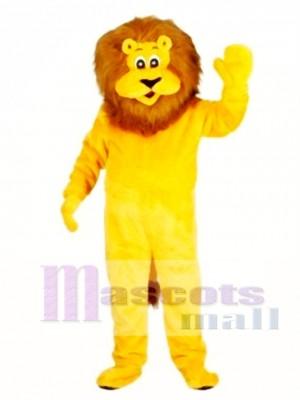 Lionel the Lion Mascot Adult Costume