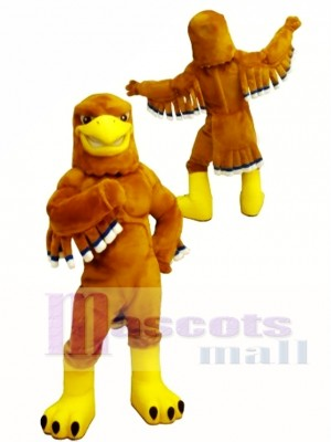 Golden Eagle Mascot Costume for High School