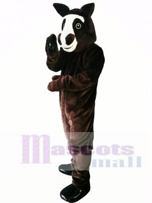 Lovely Horse Mascot Costume