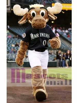 Sport Seattle Mariners the Moose Mascot Costume