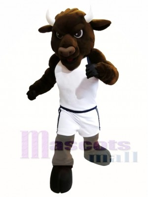 Sport Power Bull Bison the Bam from Gallaudet University Mascot Costume
