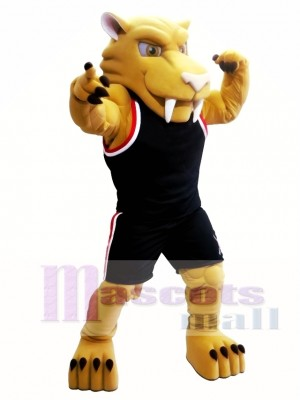 Sabretooth Tiger Mascot Costume