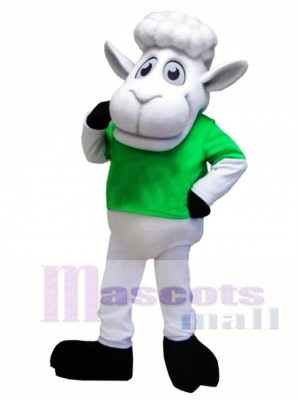 Cute Sheep Mascot Costume