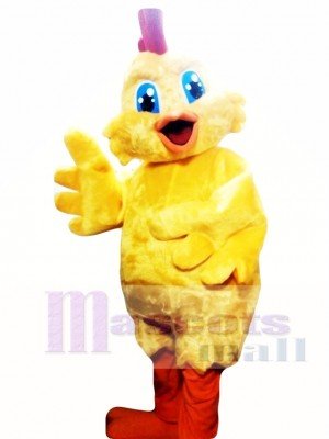 Chick Chicken Mascot Costume Adult Costume
