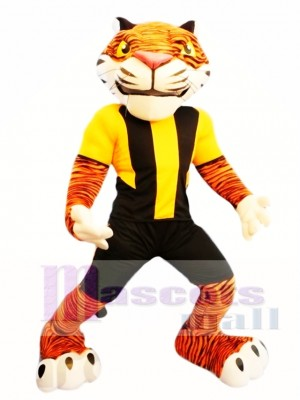 Power Tiger Mascot Costume