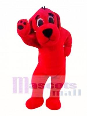 Big Red Dog Mascot Costume
