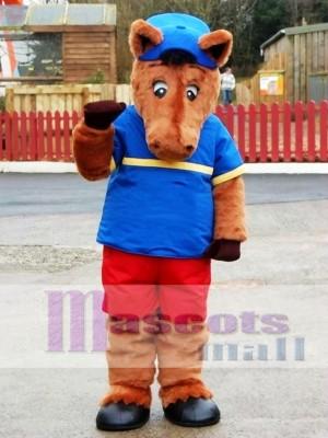 Henry Horse Mascot Costume