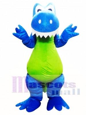 High Quality Blue Dragon Mascot Costume