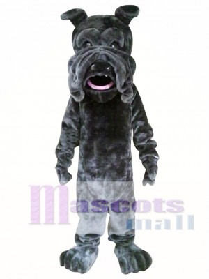 Black SharPei Mascot Costume Dog Costume for Adult