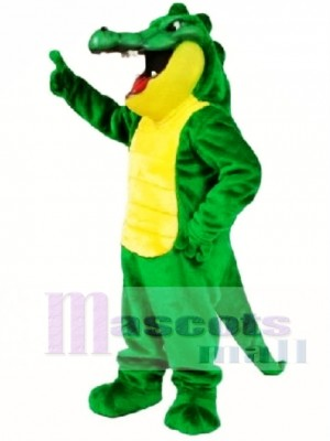 Crunch Gator Mascot Costume