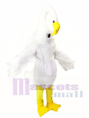 Long Necked Swan Mascot Costumes