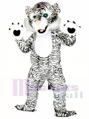 Black and White Tiger Mascot Costumes