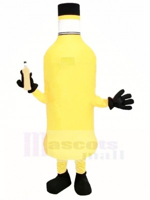 Orange Bottle Mascot Costume