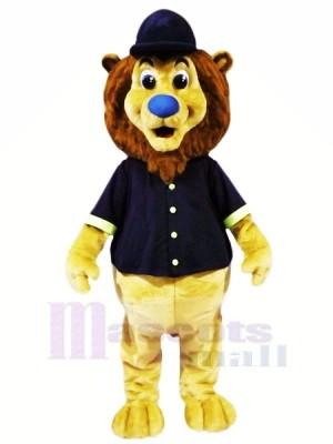 Cute Baseball Sport Lion Mascot Costumes Animal