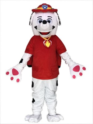 High Quality Paw Patrol Marshall Dalmatian Puppy Fire Dog Mascot Costumes Pups Cartoon