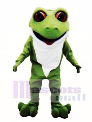 Tree Frog Mascot Costume
