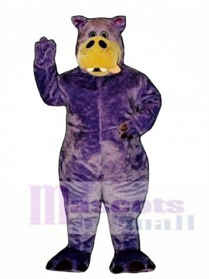 Herbie Hippopotamus Mascot Costume
