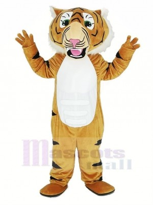 Super Muscle Tiger Mascot Costume Animal