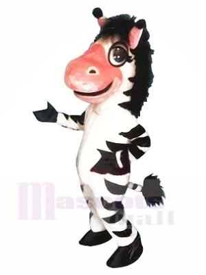 Cute Zebra Mascot Costumes