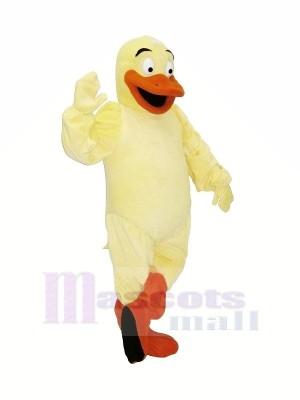 Funny Yellow Duck Mascot Costumes Cartoon