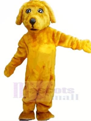 Yellow Lightweight Dog Mascot Costumes Cartoon