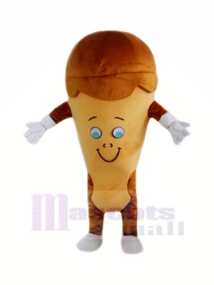 Coffee Ice Cream Mascot Costume Cartoon