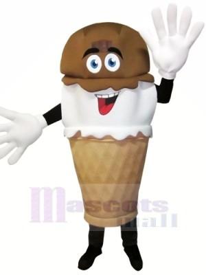 Hand-Dipped Ice Cream Mascot Costume Cartoon