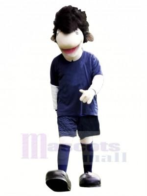 Cool Adult Eel Mascot Costume Cartoon