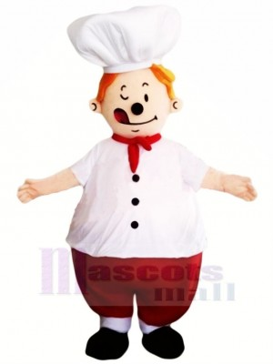 Good Quality Chef Mascot Costume Cartoon
