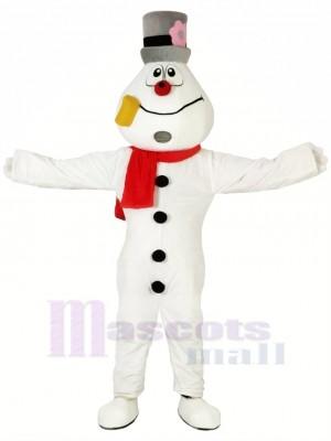 Funny Snowman Mascot Costumes Cartoon Christmas Xmas
