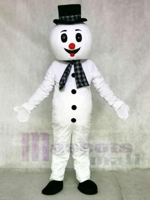 Snowman Mascot Costumes Xmas Christmas