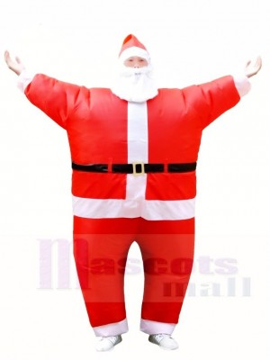 Santa Claus Inflatable Halloween Christmas Xmas Costumes for Adults