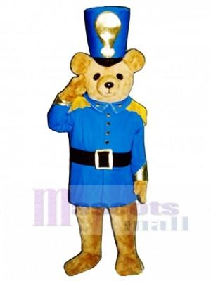 Soldier Bear Mascot Costume