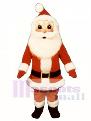 Santa Claus Christmas Mascot Costume