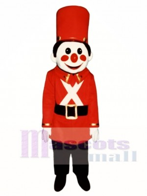 Toy Soldier Mascot Costume