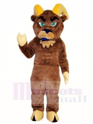 Cute Brown Ram Mascot Costumes Animal