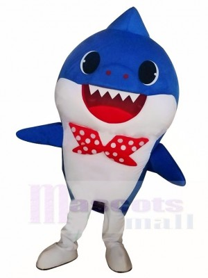 PinkFong Blue Baby Shark Mascot Costumes Sea Ocean Cartoon