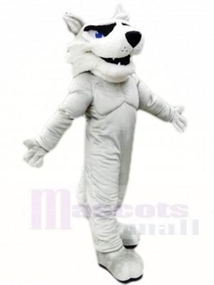 Grey Husky Dog Mascot Costumes Animal