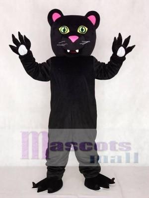 Friendly Black Panther Mascot Costumes Animal
