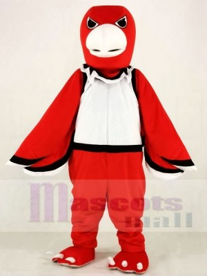 Red Warhawk Hawk Mascot Costumes Animal
