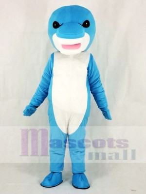 Blue Shark Mascot Costumes Sea