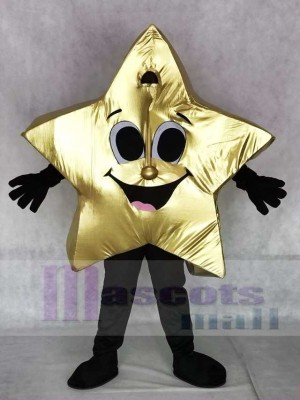 Shiny Twinkle Star Mascot Costumes Christmas Xmas