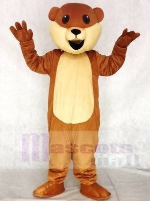 Ollie Otter Mascot Costumes Animal with No Whiskers